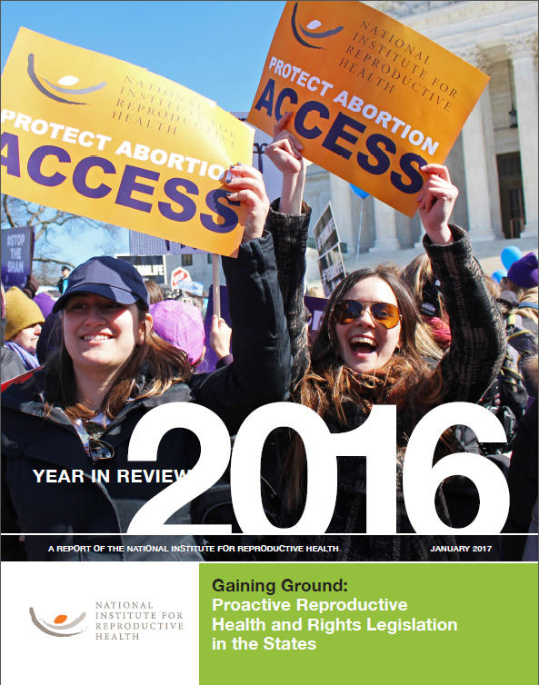 2016 Policy report cover