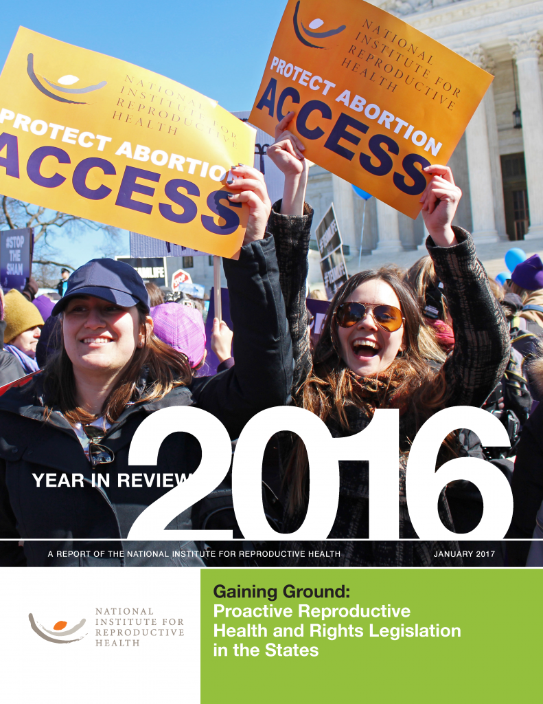 2016 policy report cover page