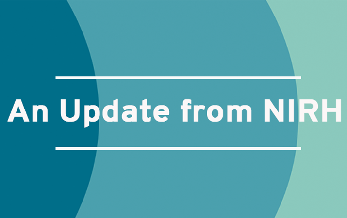 An Update from NIRH